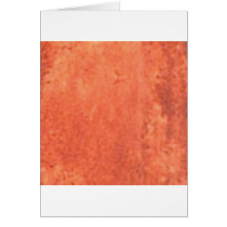 smear of orange card