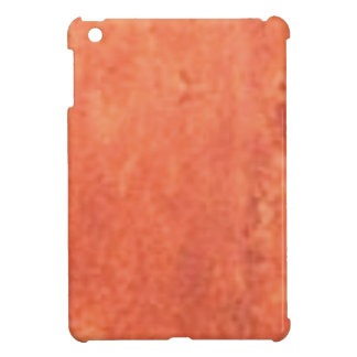 smear of orange iPad mini covers