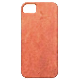 smear of orange iPhone 5 case