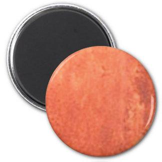 smear of orange magnet