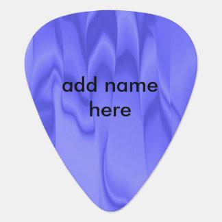 Smeared Blue Color Guitar Pick