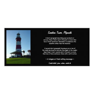 Smeaton's Tower, Plymouth Hoe Customized Rack Card
