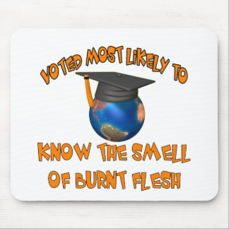 Smell Burnt Flesh Mouse Pad