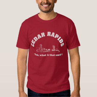 Smell Cedar Rapids Tee