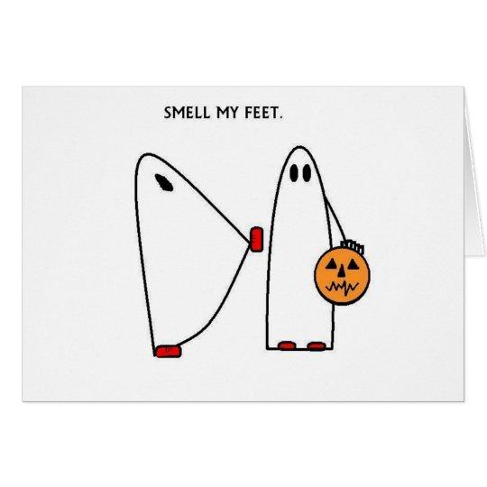 Smell My Feet Card