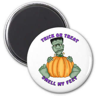 Smell My Feet Halloween 6 Cm Round Magnet