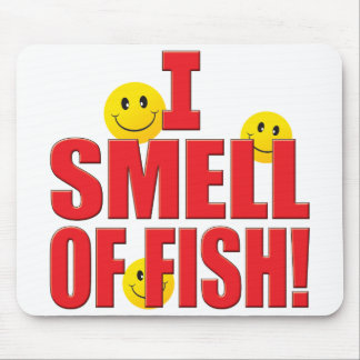 Smell Of Fish Life Mouse Pad