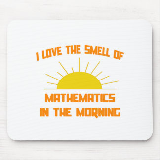 Smell of Mathematics in the Morning Mousepad