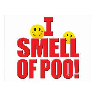 Smell Of Poo Life Postcard