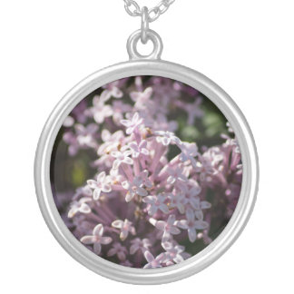 Smell That Lilac Silver Plated Necklace