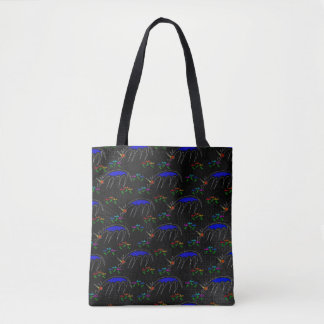 Smell The Flowers Unicorn Tote Bag