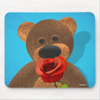 Smelling Dinky Bear Mouse Pad