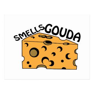 Smells Gouda Post Card