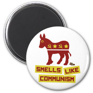 Smells Like Communism 6 Cm Round Magnet