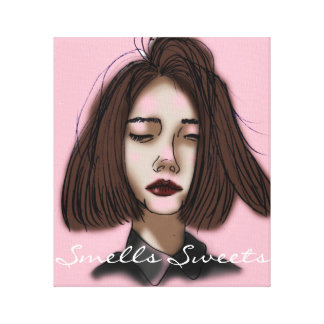Smells Sweets Canvas Print
