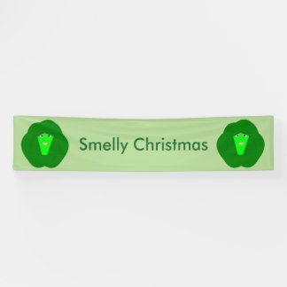 Smelly Christmas Brussels Sprout Banner