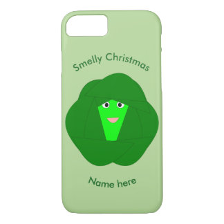 Smelly Christmas Brussels Sprout iPhone Case