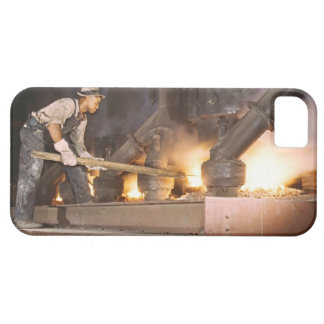Smelting Furnace 1942 iPhone 5 Case