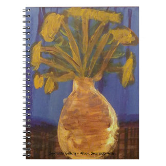 """Smeraldo Gallery """"Crown Imperial Fritillaries"""" Notebook"""
