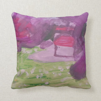 """Smeraldo Gallery """"Orchard Blossoms"""" Collection Throw Pillow"""