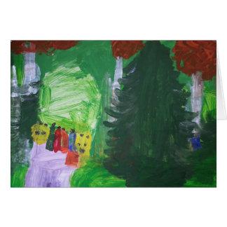 """Smeraldo Gallery """" Public Garden in Arles"""" Card"""
