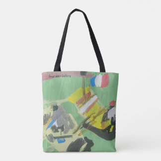 "Smeraldo Gallery ""Quay on the Barge"" Tote Bag"
