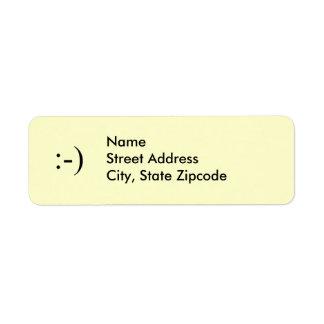 Smile ~ Address Label