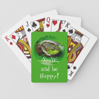 Smile and Be Hoppy Poker Deck