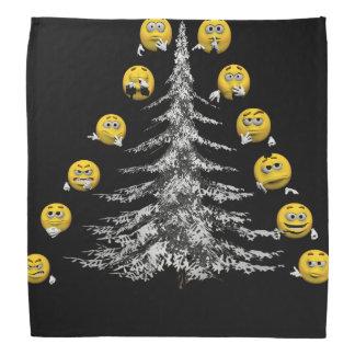 smile and firtree bandana