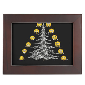 smile and firtree keepsake box