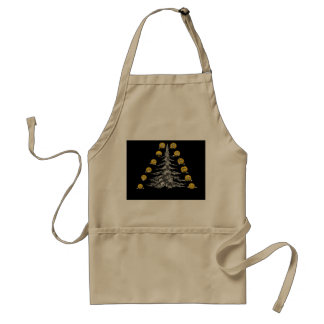 smile and firtree standard apron
