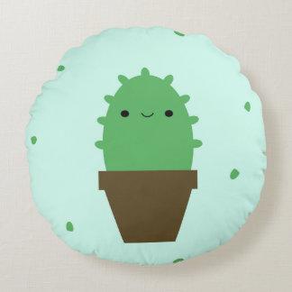 Smile at me cactus pillow