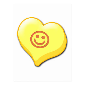 Smile Candy Heart Postcard