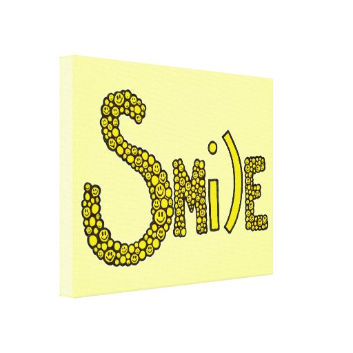Smile Canvas Prints