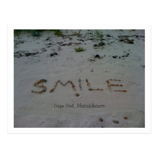 Smile Cape Cod Beach Postcard