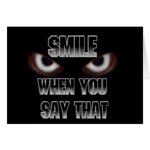 SMILE..... GREETING CARD