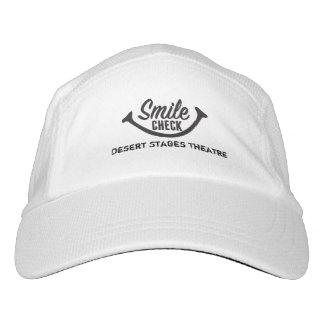 Smile Check Baseball Hat