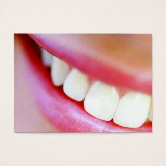 smile dentist business card
