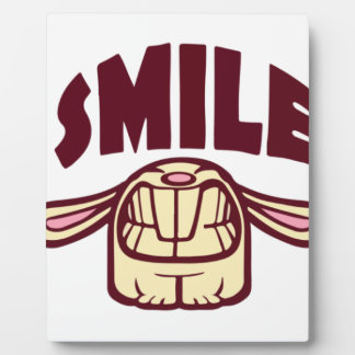 Smile Display Plaque