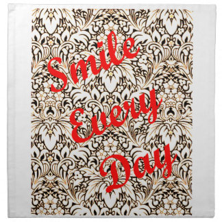 Smile Every Day Napkin