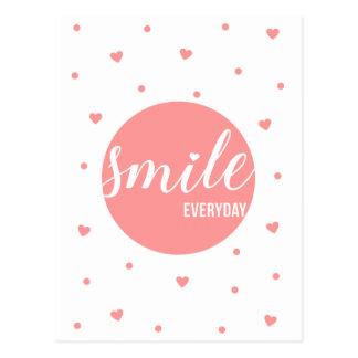 Smile Everyday Postcard