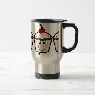 Smile Face Cupcake Mugs