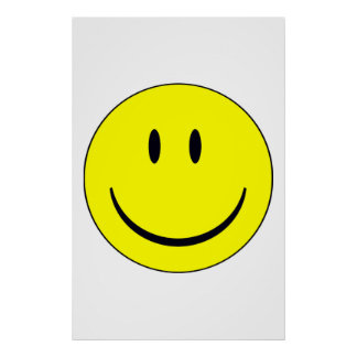 Smile Face Poster