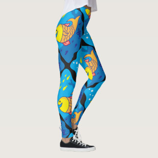 Smile Fish Leggings