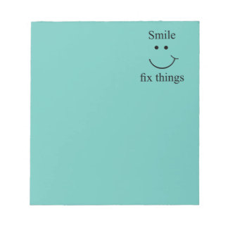 Smile fix things notepad