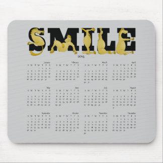 SMILE flexible pony calendar 2014 Mouse Pad