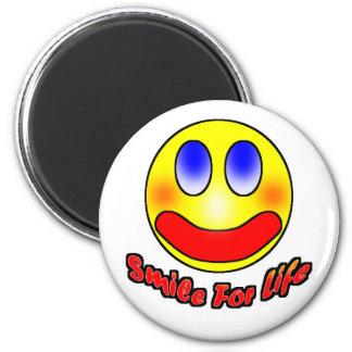 Smile For Life Refrigerator Magnet