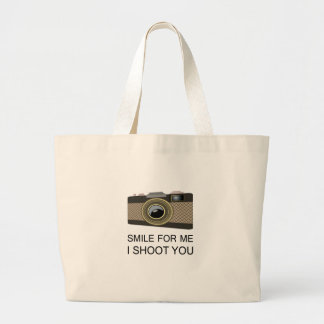 Smile For Me Large Tote Bag