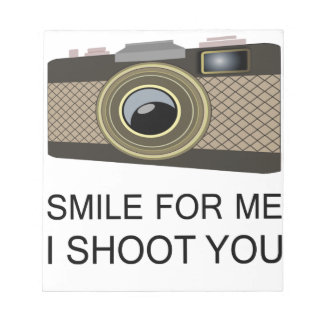 Smile For Me Notepad