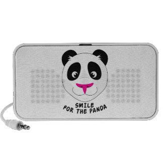 Smile For Panda iPhone Speakers